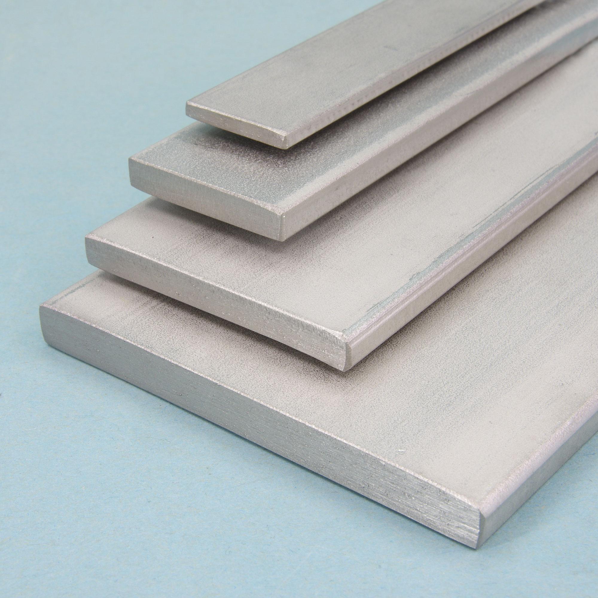 Aluminium Flachstange 120x20mm Länge wählbar Alu Flachmaterial AlCuMgPb Flach